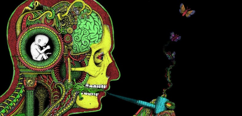 Effects Of Cannabis On Dream Recall Marijuana-art-cannabis-smoking-790x381