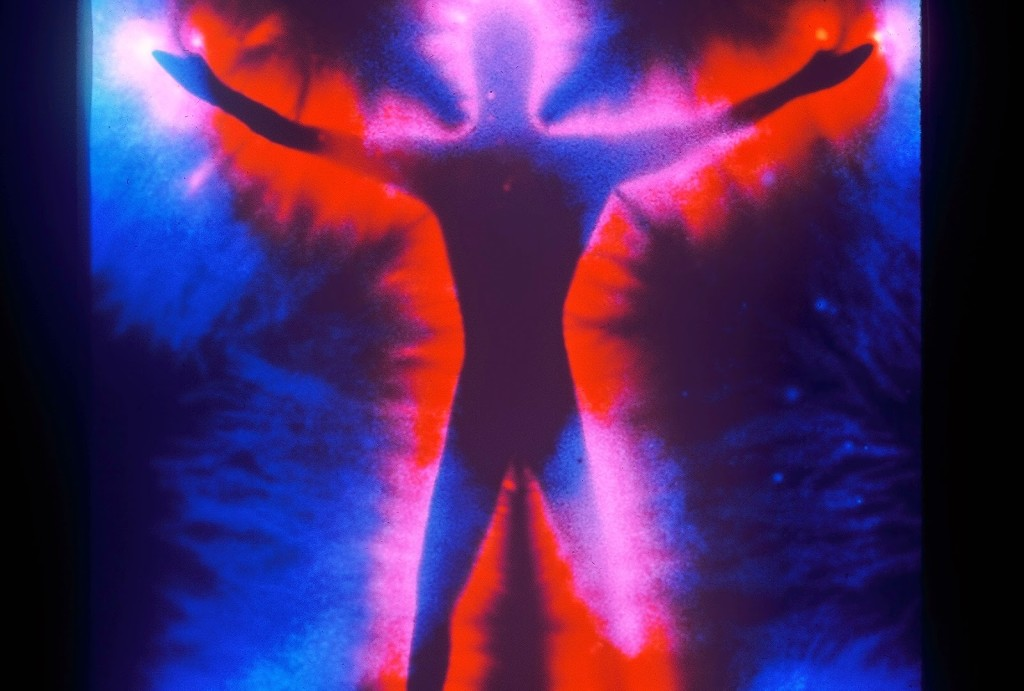 energy aura Kirlian photo