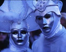 Personas - Venetian masks couple