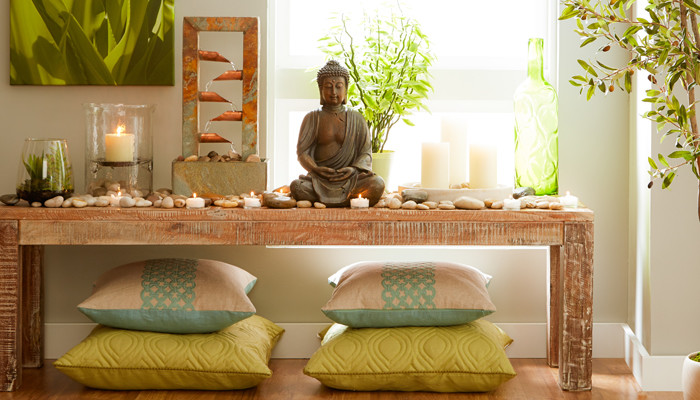 6 ways to fill your home with positive energy for Meditation living room