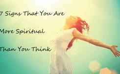 More Spiritual Thank You Think