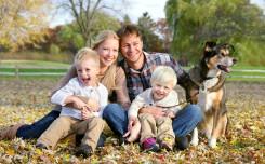health family dog