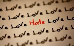 hatred vs love