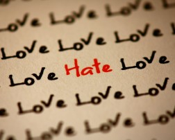 hatred vs love