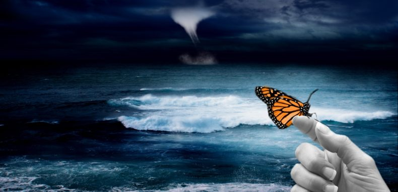 The Global Butterfly Effect