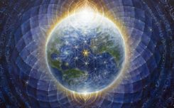 Ley Lines - Earth - Flower of life