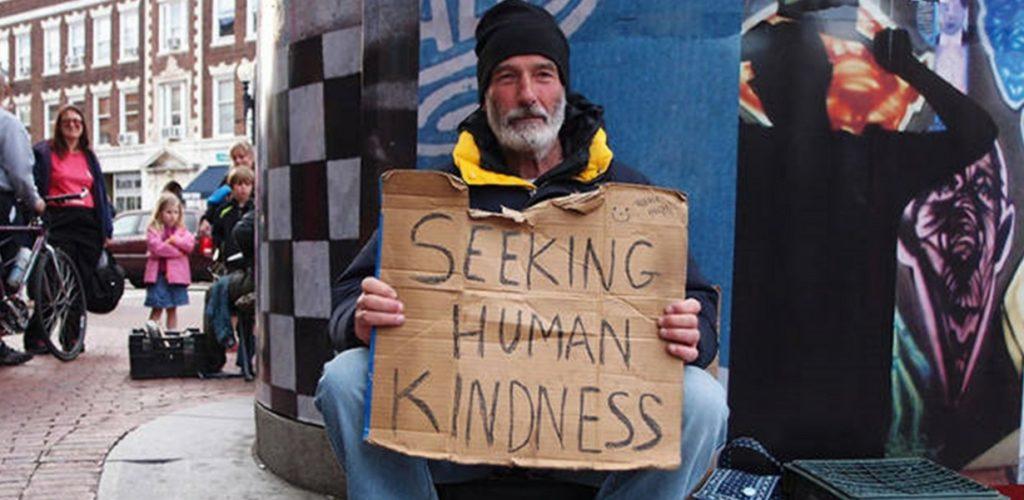 homeless kindness